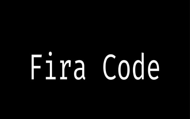 Fira Code Font Family Free Download