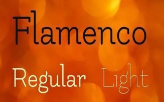 Flamenco Font Family Free Download