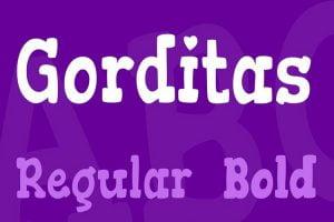 Gorditas Font Family Free Download