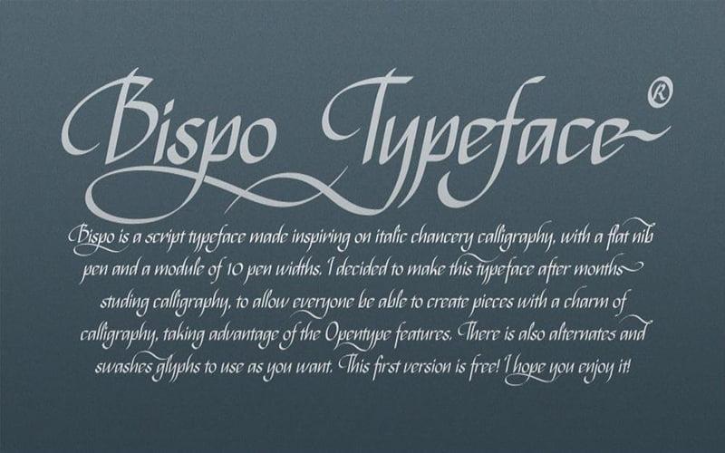 Bispo Font Free Download