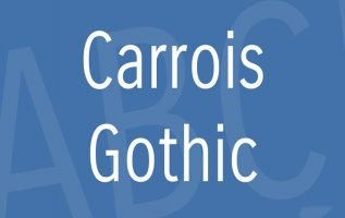 Carrois Gothic Font Family Free Download