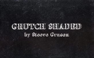 GrutchShaded Font Family Free Download
