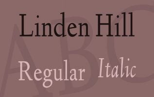 Linden Hill Font Family Free Download