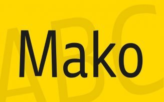 Mako Font Family Free Download