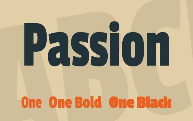 Passion One Font Family Free Download