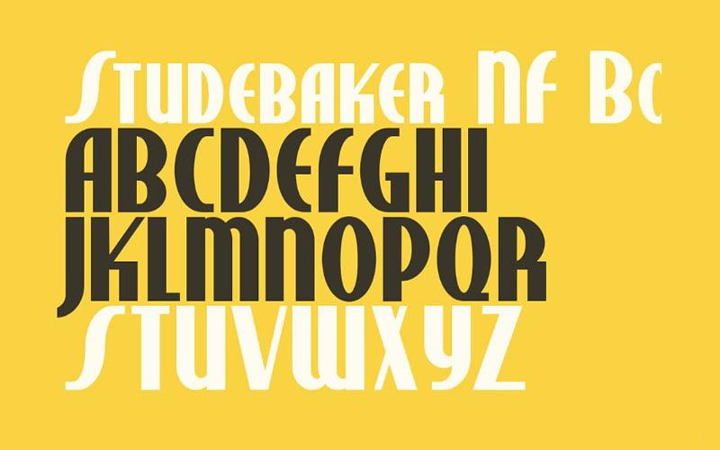 Studebaker Font Free Download