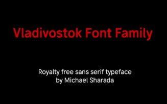 Vladivostok Font Family Free Download