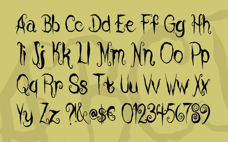 Coraline-Cat-Font-Family-Download
