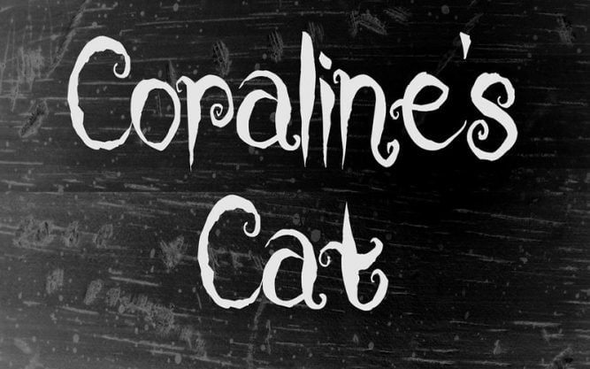 Coraline Cat Font Family Free Download