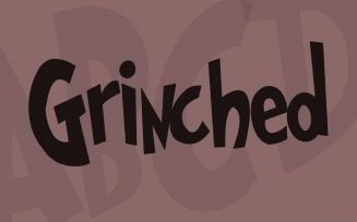Grinched Font Family Free Download