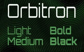 Orbitron Font Family Free Download