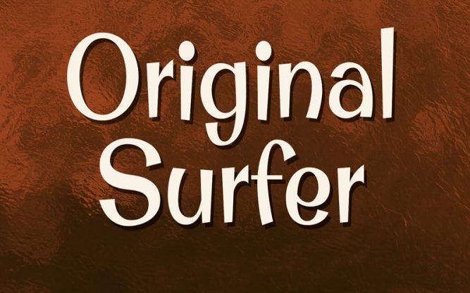 Original Surfer Font Family Free Download
