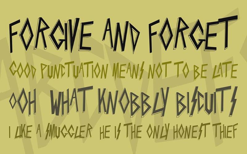 Slayer Font Free Download