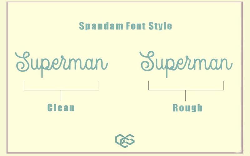 Spandam-Font-Family-Download