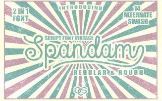 Spandam Font Family Free Download