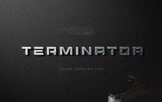 Terminator Font Family Free Download