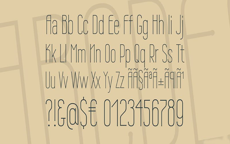 Wire-One-Font-Family-Download