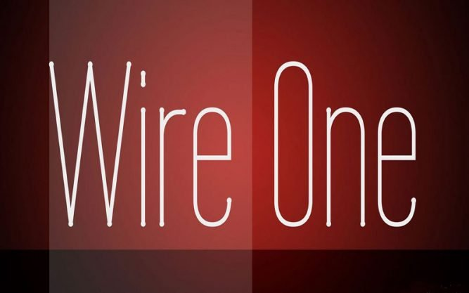 Wire One Font Family Free Download