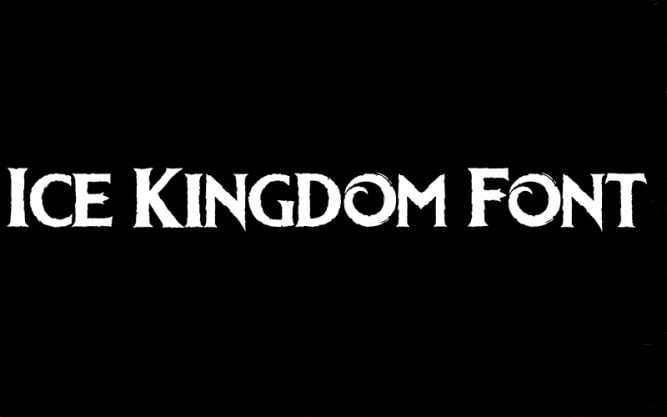 Ice Kingdom Font Family Free Download