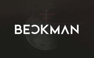 Beckman Font Family Free Download
