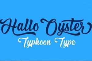 Hallo Oyster Font Family Free Download