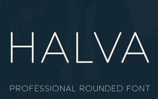 Halva Font Family Free Download