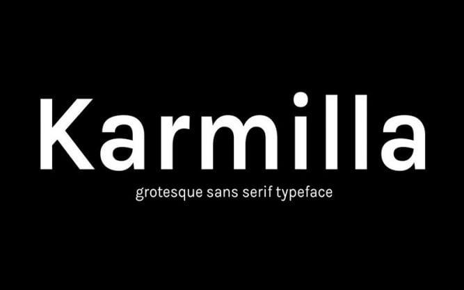 Karmilla Font Family Free Download