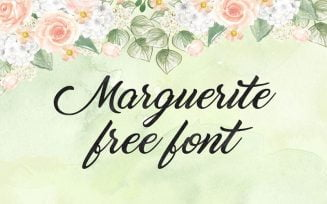 Marguerite Font Family Free Download