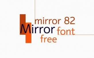 Mirror 82 Font Family Free Download