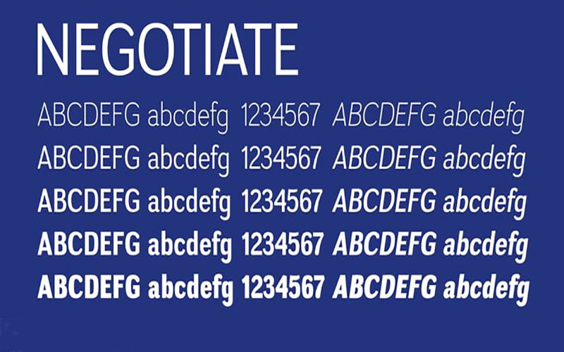 Negotiate-Font-Family-Download