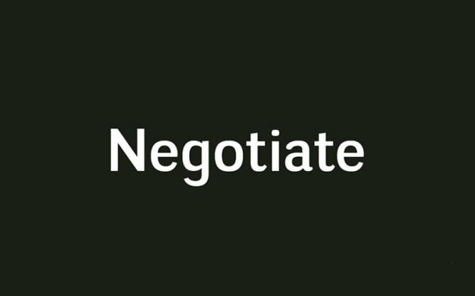 Negotiate Font Family Free Download