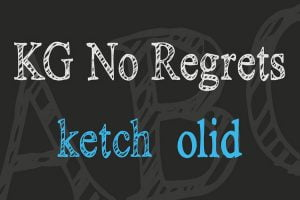 No Regrets Font Family Free Download