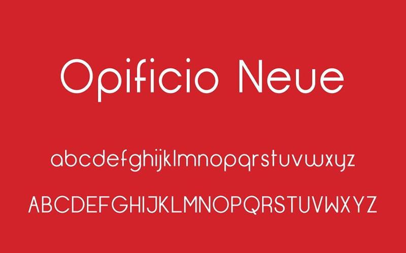 Opificio Neue Font Free Download