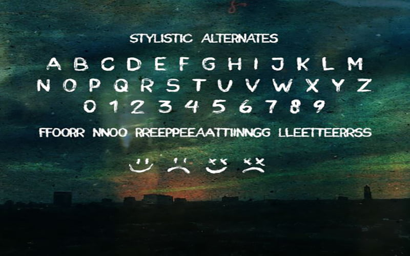 Paint-the-Sky-Font-Family-Download