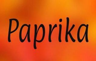 Paprika Font Family Free Download