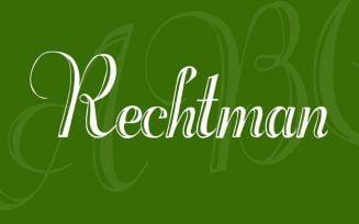 Rechtman Font Family Free Download