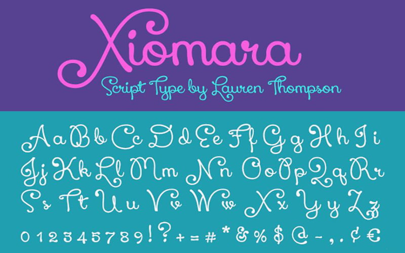 Xiomara-Font-Family-Download