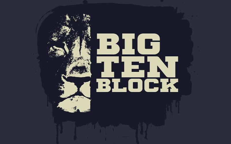 Big Ten Block Font Free Download