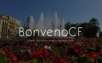 BonvenoCF Font Family Free Download