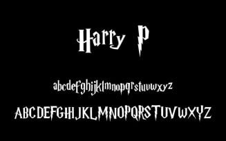 Harry P Font Family Free Download