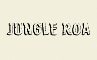 Jungle Roar Font Family Free Download
