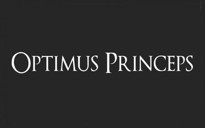Optimus Princeps Font Family Free Download