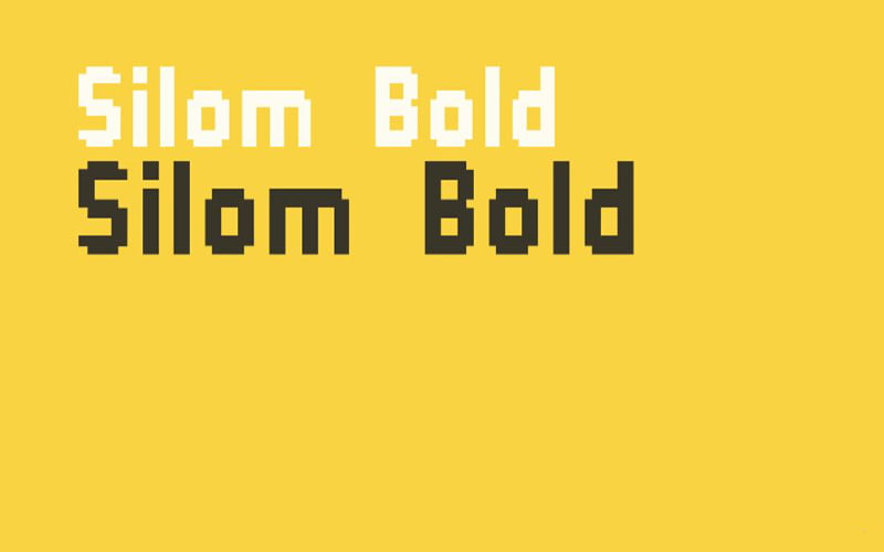 Silom Font Free Download