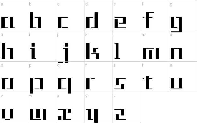 Tetris-Font-Family-Download