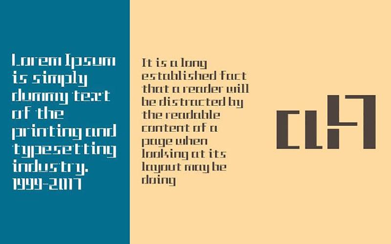 Tetris Font Free Download