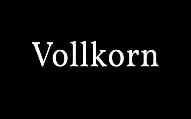 Vollkorn Font Family Free Download