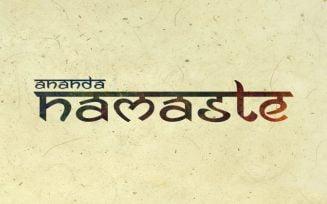 Ananda Namaste Font Family Free Download