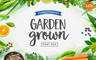 Garden Grown US C Caps Font Family Free Download