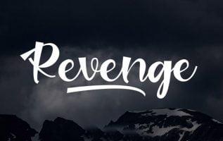 Revenge Font Family Free Download