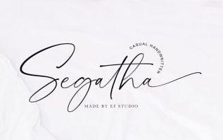 Segatha Font Family Free Download
